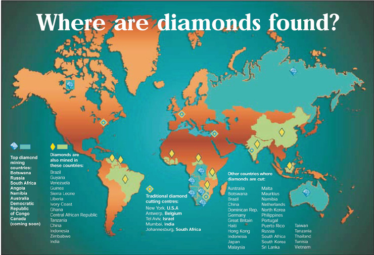 Gemstone World Map.Jcrs Jewelry Insurance Issues
