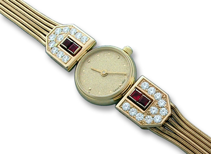 Fine Cartier Watches Swiss Quartz Movement With White 15560, Cartier